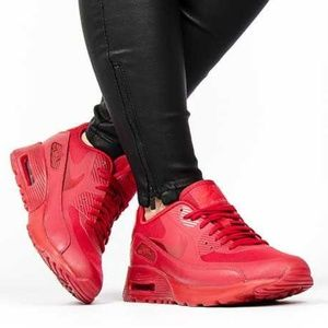Women's Nike Air Max Ultra 90 Gym Red